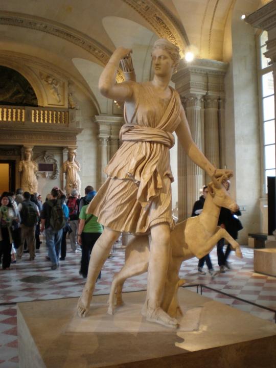 Artemis/Diana,Louvre,Paris