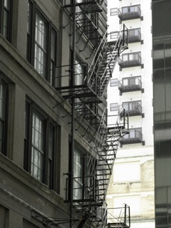 More fire escapes