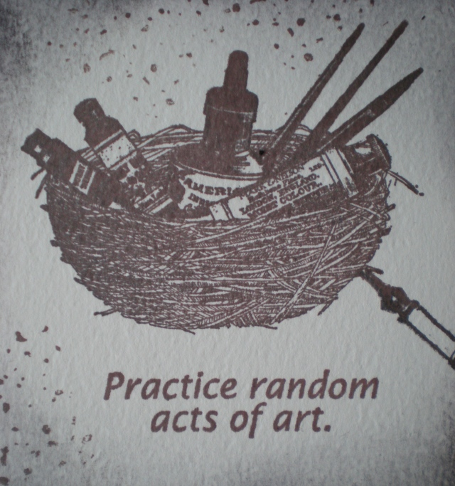 Practice random works of art