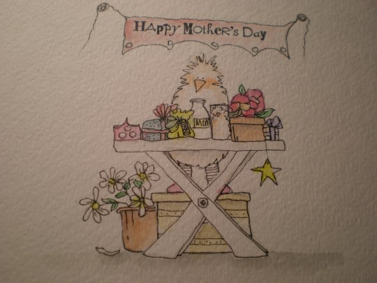 The day before Mother's Day