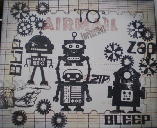 Mail art/bots