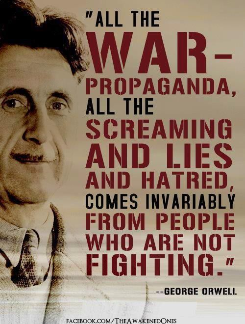 Quote From George Orwell…